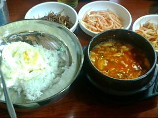 釜山の晩ご飯