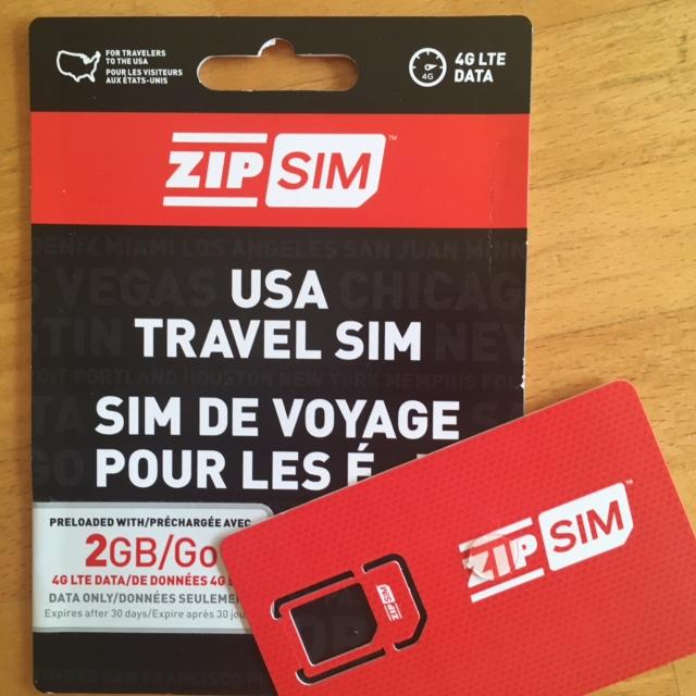 旅行者用SIMカード
